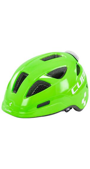 Cube Pro Helm Junior green